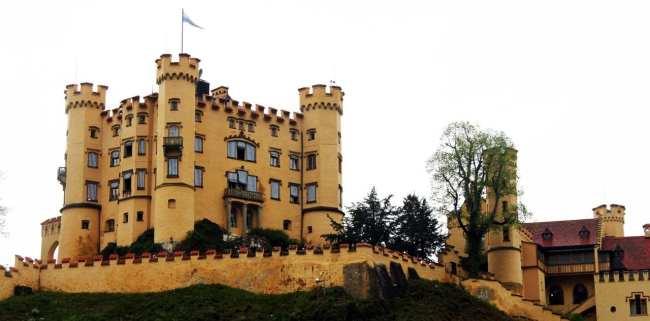 Castelos da Alemanha - Castelo Hohen Schwangau
