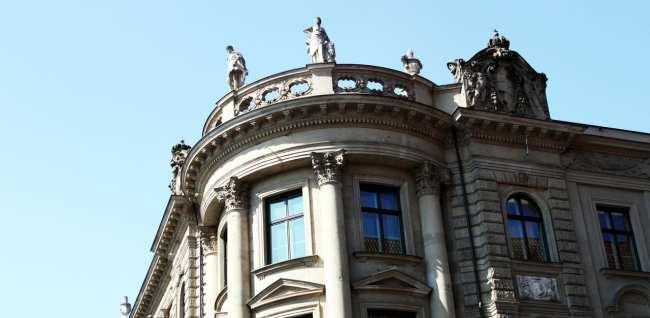 Centro histórico de Munique - No caminho para o tour