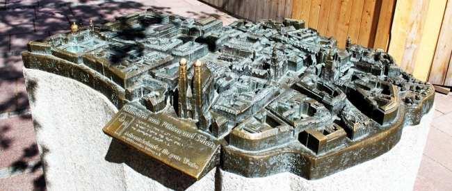 Centro histórico de Munique - Miniatura do centro de Munique