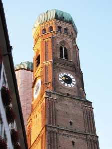Centro histórico de Munique - Torre da Frauenkirche