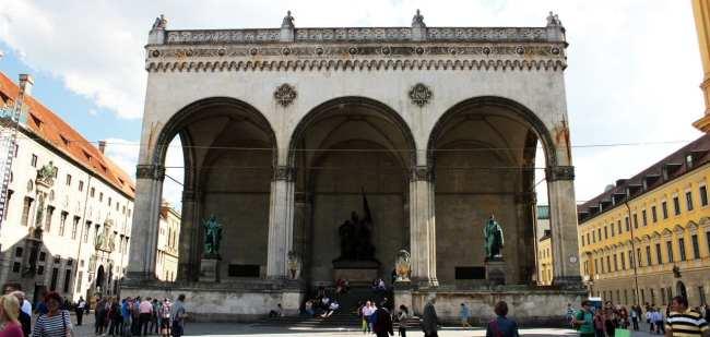 Centro histórico de Munique - Odeonsplatz