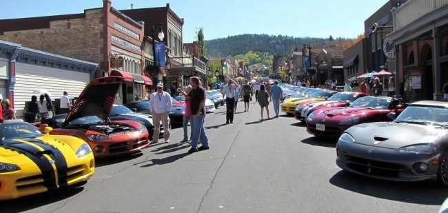 Dicas para dirigir nos EUA - Encontro de Dodge Vipers em Park City