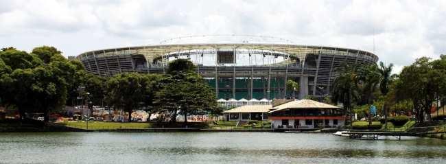 Fim de semana em Salvador - Estádio da Fonte Nova