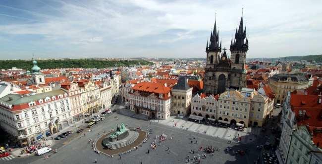 República Tcheca - Praça do relógio astronômico