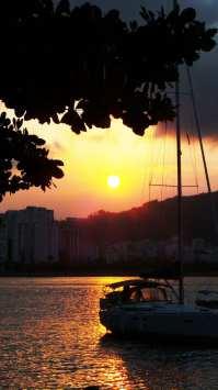Roteiro de Botecos no Rio de Janeiro - Pôr do Sol na Urca 04