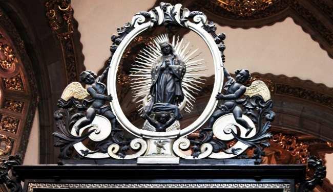 Basílica de Guadalupe - detalhe