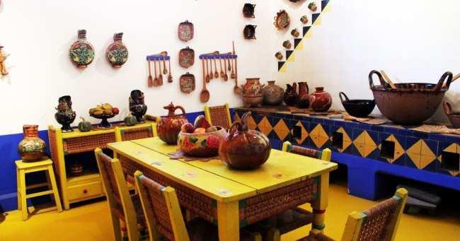 Museu Frida Khalo - Cozinha