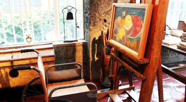 Museu Frida Khalo - Como ela pintava