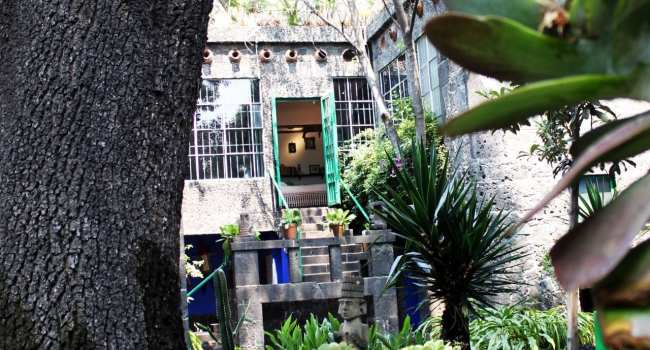 Museu Frida Khalo - vista externa