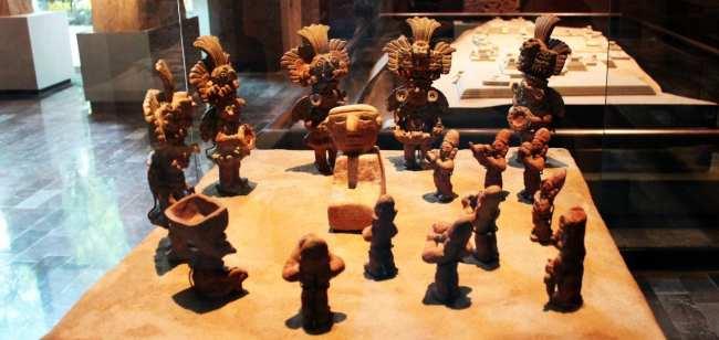 Museu Nacional de Antropologia - Esculturas