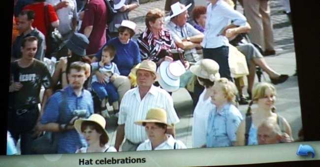 Novy Jicín - festa do chapéu