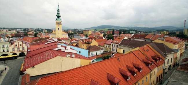 Novy Jicín - Panorâmica da cidade