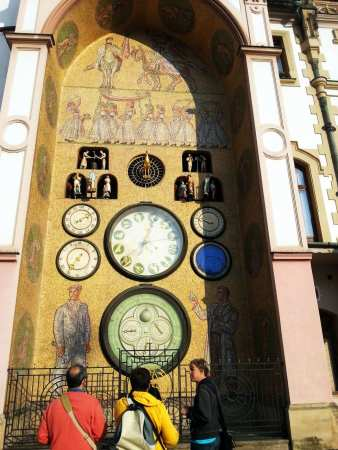 Olomouc - Relógio Astronômico 01