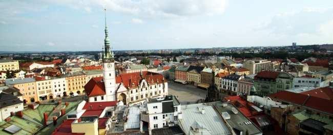 Olomouc - Torre da Igreja de São Maurício