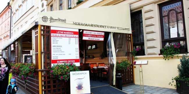 Olomouc - Restaurante Moravska