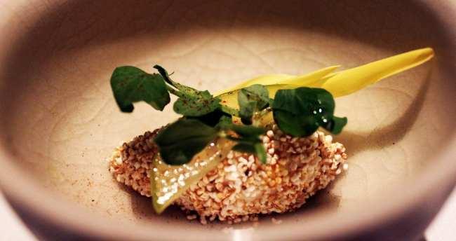 Restaurantes na Cidade do México - Pujol: Sorvete de cenoura branca / pastinaca / parsnip