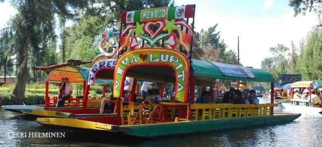 Barquinhos de Xochimilco 01