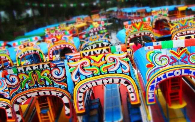 Barquinhos de Xochimilco 03