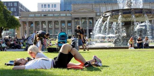 10 mitos sobre a Alemanha - jardim em Stuttgart