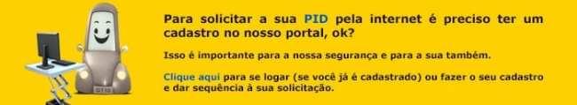 Como tirar a PID em São Paulo: banner cadastro