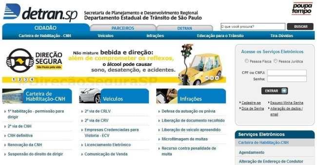 Como tirar a PID em São Paulo - site detran
