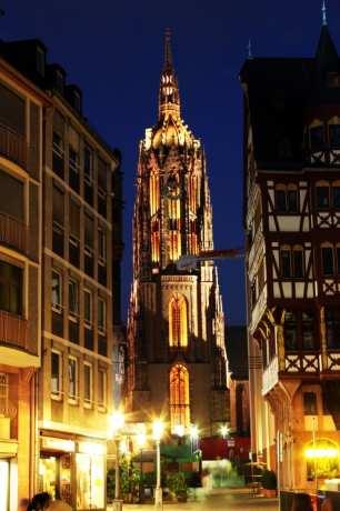 Centro Histórico de Frankfurt - Torre da catedral de frankfurt 2