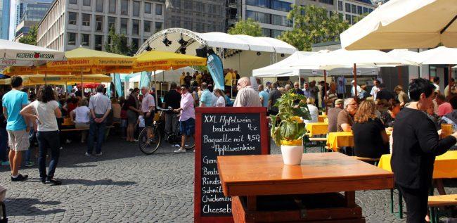 Melhores restaurantes de Frankfurt - Festa do Apfelwein
