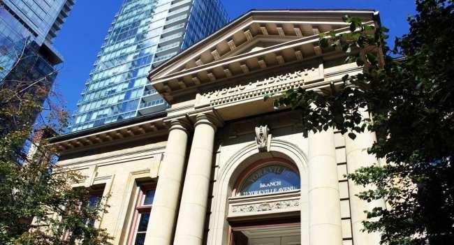 O que fazer em Toronto - Biblioteca de Yorkville