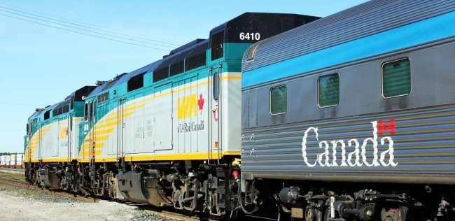 Viajar de trem no Canadá - The Canadian 2
