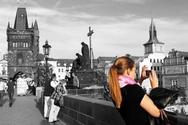 Cenas de Praga - Olha o Instagram!