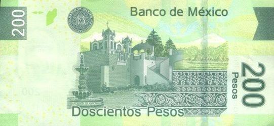 Qual moeda levar para o México - 200 pesos trás modelo novo