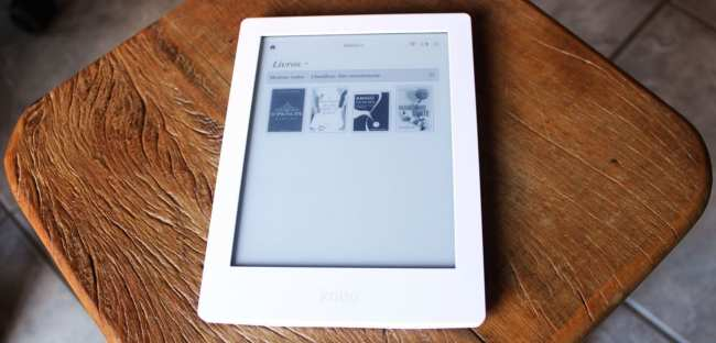 eReader Kobo Aura HD - Livros disponíveis