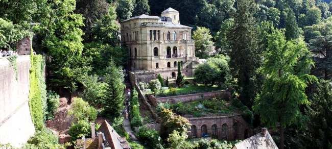 Guia de Heidelberg na Alemanha - Uma casa no castelo :P