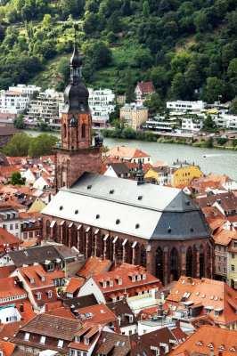 Guia de Heidelberg na Alemanha - Igreja do Espírito Santo