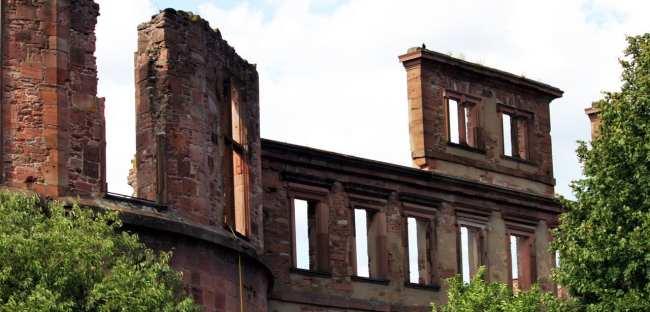 Guia de Heidelberg na Alemanha - Ruínas do castelo