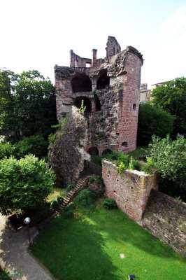 Guia de Heidelberg na Alemanha - A torre mais linda \o/