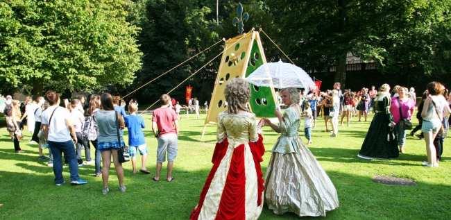 Guia de Heidelberg na Alemanha - Jogos típicos da época
