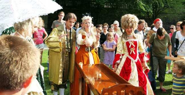 Guia de Heidelberg na Alemanha - O Rei e a Rainha comemorando o casamento
