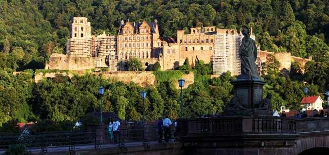 Guia de Heidelberg na Alemanha - Agora o castelo inteiro
