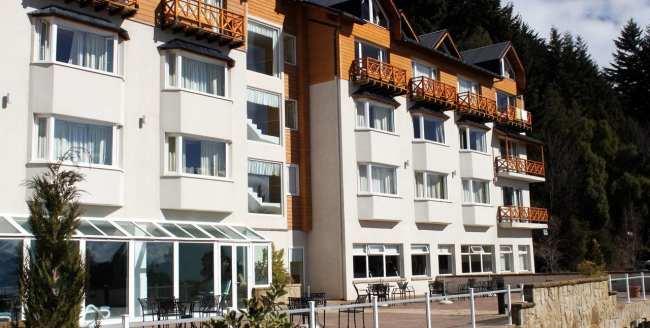 Ode ficar em Bariloche: os melhores hotéis - Villa Huinid Lodge vista de fora