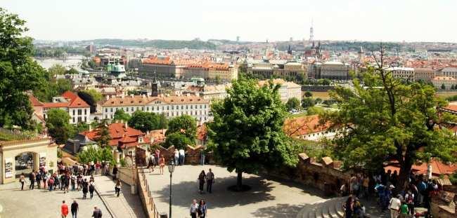 Castelo de Praga - Vista do Castelo 2