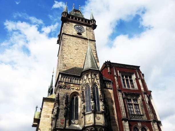Relógio Astronômico de Praga - Torre da Old Town Hall