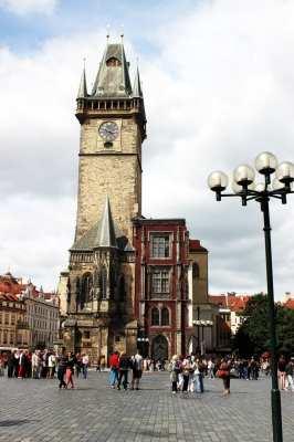 Relógio Astronômico de Praga - Mais uma da Torre da Old Town