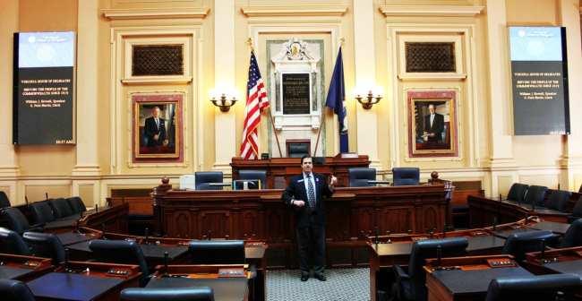 Roteiro de 1 dia em Richmond - Capitólio da Virginia Sala do Congresso