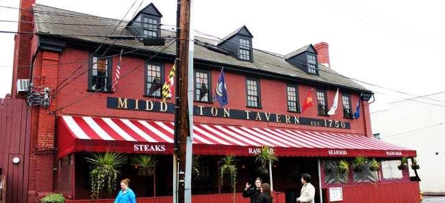 O que fazer em Annapolis - Middleton Tavern