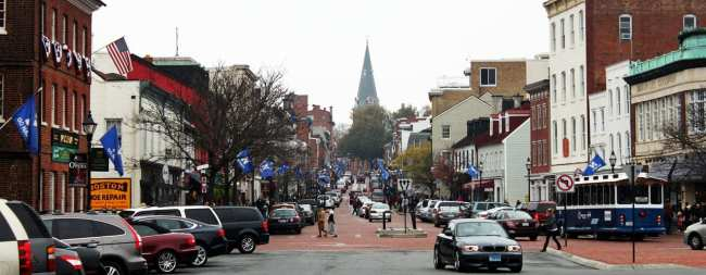 O que fazer em Annapolis - Main Street Igreja