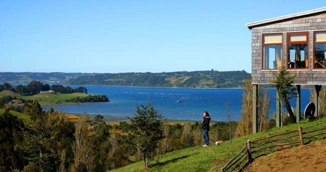 Chiloé - Baía de Rilan