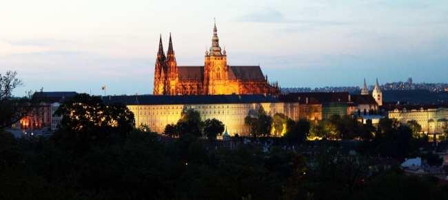 Petrin em Praga - Pôr do Sol