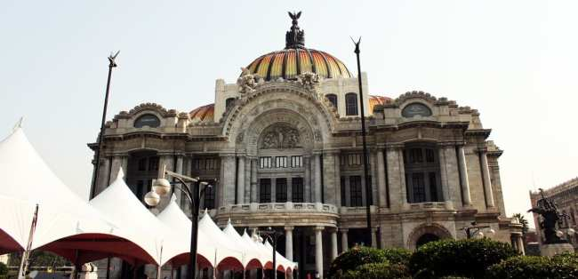 Zocalo Centro Histórico da Cidade do México - Palácio de Belas Artes
