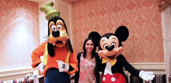 Guia completo de Orlando - Pateta, Mickey e Natalie